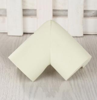 Ochranný kryt na rohy stolu - 8 ks - 14 barev Barva: bílá