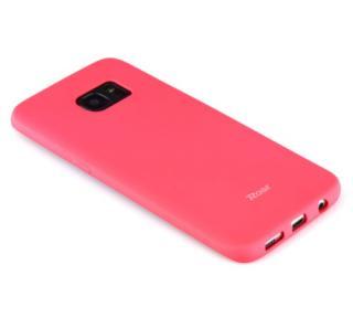 Ochranný kryt Roar Colorful Jelly pro Samsung Galaxy A72, tmavě růžová