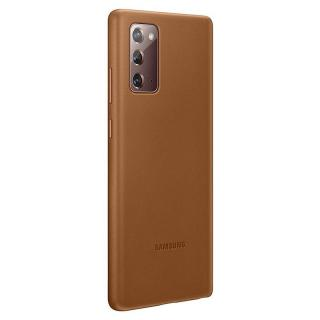 Ochranný kryt Samsung Leather Cover EF-VN980LAE pro Samsung Galaxy Note 20, hnědá