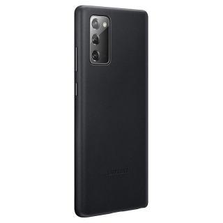 Ochranný kryt Samsung Leather Cover EF-VN980LBE pro Samsung Galaxy Note 20, černá