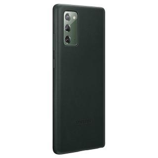 Ochranný kryt Samsung Leather Cover EF-VN980LGE pro Samsung Galaxy Note 20, zelená