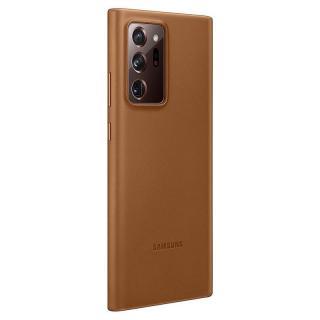 Ochranný kryt Samsung Leather Cover EF-VN985LAE pro Samsung Galaxy Note 20 Ultra, hnědá