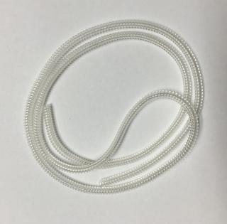 Ochranný oplet kabelu 20 ks Barva: bílá