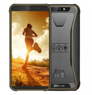 Odolný telefon iget blackview gbv5500 plus 3gb/32gb, žlutá