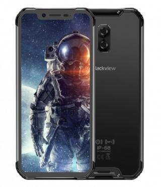 Odolný telefon iget blackview gbv9600 pro 6gb/128gb, černá