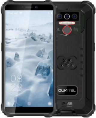 Odolný telefon oukitel wp5 4gb/32gb, červená