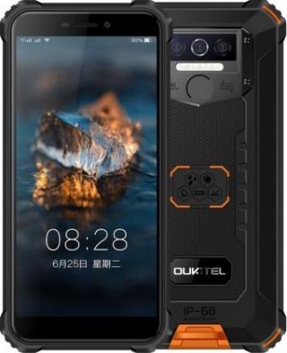 Odolný telefon oukitel wp5 4gb/32gb, oranžová