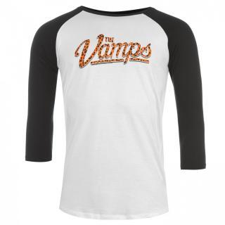 Official The Vamps Raglan T Shirt Mens pánské Other XL