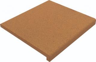 Okapnice Gresan Albarracin cihlová 25x28x3 cm mat GRAO25283 oranžová cihlová