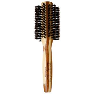 Olivia Garden Healthy Hair 100% Natural Boar Bristles kartáč na vlasy průměr 30 mm dámské