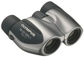 Olympus 10x21 DPC I Dalekohled Stříbrný Grey