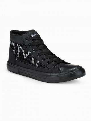 Ombre Clothing Mens ankle shoes T353 pánské Black 41