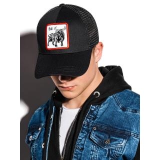 Ombre Clothing Mens cap H070 pánské Black One size