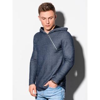 Ombre Clothing Mens hoodie B1208 pánské Navy S