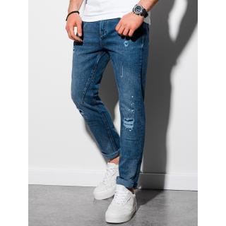 Ombre Clothing Mens jeans P935 pánské Blue M