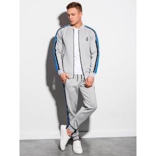 Ombre Clothing Mens set hoodie   pants Z22 pánské Grey XXL