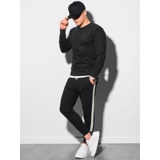 Ombre Clothing Mens set hoodie   pants Z26 pánské Black S