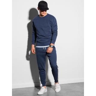 Ombre Clothing Mens set hoodie   pants Z26 pánské Navy S