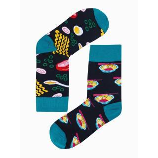 Ombre Clothing Mens socks U166 pánské Black 43