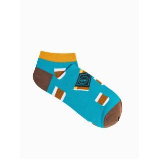 Ombre Clothing Mens socks U172 pánské Turquoise 43