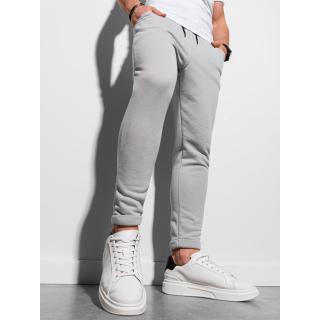 Ombre Clothing Mens sweatpants P949 pánské Grey S
