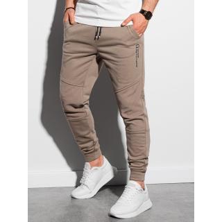 Ombre Clothing Mens sweatpants P954 pánské Brown S