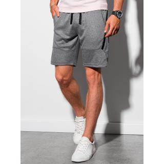 Ombre Clothing Mens sweatshorts W296 pánské Grey S