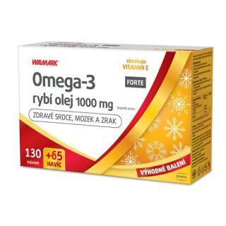 Omega-3 rybí olej FORTE 1000 mg limitovaná edice 2021 130   65 tablet NAVÍC