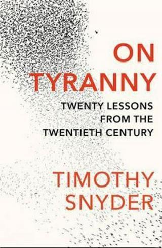 On Tyranny - Snyder Timothy