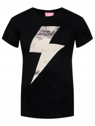 One Teaspoon T-Shirt Lightening Tee 23887 Černá Slim Fit dámské XS