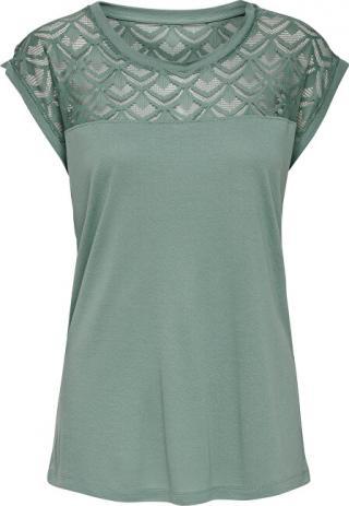 ONLY Dámské triko ONLNICOLE 15151008 Chinois Green L dámské