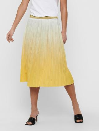 ONLY Dippy Sukně Žlutá dámské XL
