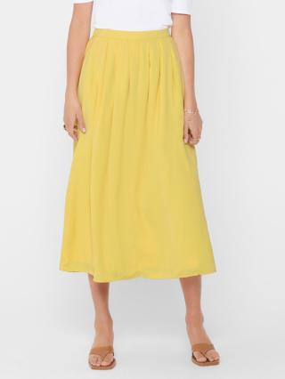 ONLY Sue Sukně Žlutá dámské 42