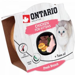 Ontario Fresh Brunch Kitten Chicken 80g