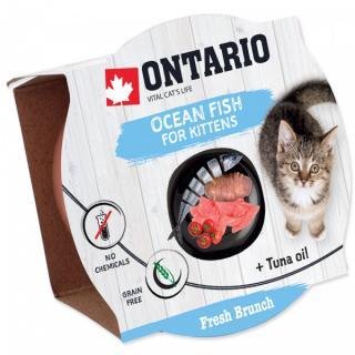 Ontario Fresh Brunch Kitten Ocean Fish 80g
