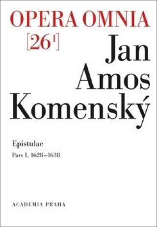 Opera omnia 26/I -- Epistuale - Korespondence Pars I 1622-1642