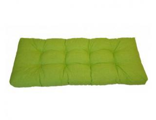 Opěradlový polstr na paletu 120x40 - světle zelený melír