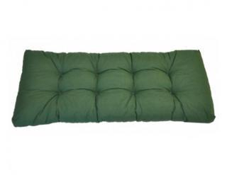 Opěradlový polstr na paletu 120x40 - tmavě zelený melír