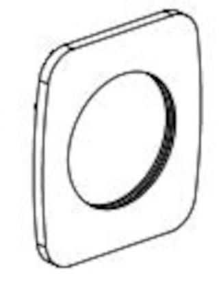 OPTIMA - náhradní rozeta k tělu b. CU101 NDCU10111