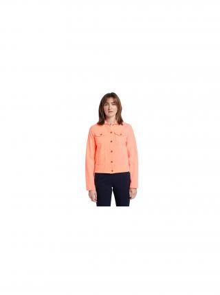 Oranžová dámská džínová bunda Tom Tailor dámské L