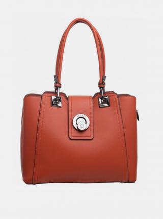 Oranžová kabelka Bessie London dámské