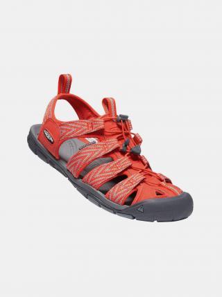 Oranžové pánské vzorované sandály Keen pánské oranžová 44