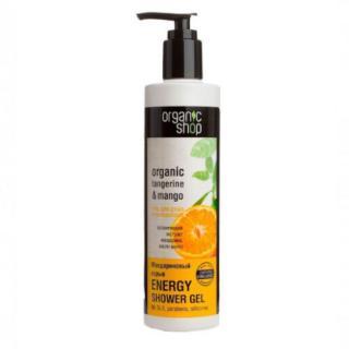 Organic Shop Energizující sprchový gel Organic Tangerine & Mango  280 ml