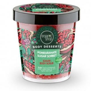 Organic Shop Tělový peeling Body Desserts Pomegranate Sugar Sorbet  450 ml