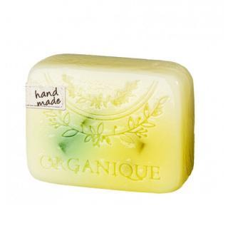 Organique Tuhé glycerinové mýdlo Citronová tráva  100 g dámské