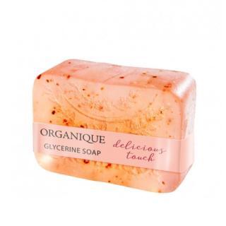 Organique Tuhé glycerinové mýdlo Delicious Touch  100 g dámské