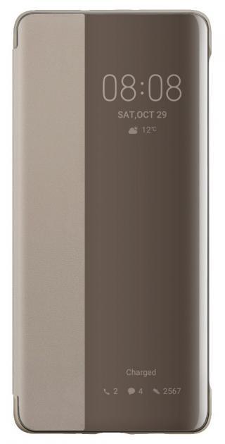 Original S-View flipové pouzdro pro Huawei P30 Pro, khaki