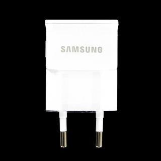 Originální cestovní nabíječka Samsung ETA0U83EWE s USB výstupem, 1A, White