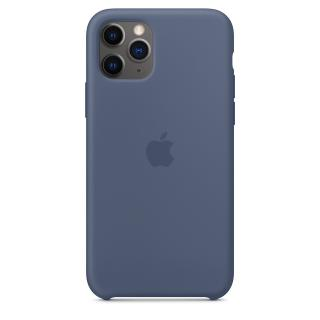Originální kryt Silicone Case Apple iPhone 11 Pro Max, modrá