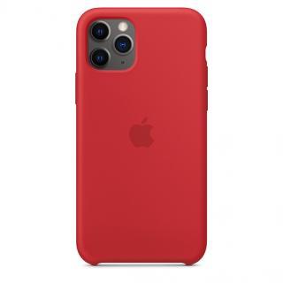 Originální kryt Silicone Case pro Apple iPhone 11 Pro, červená